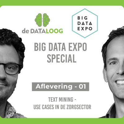 DTL Big Data Expo Special – Text Mining in de zorg sector