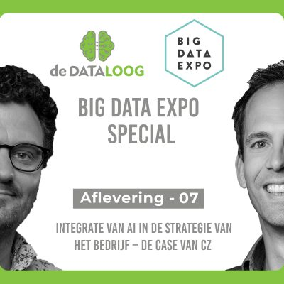 DTL– Big Data Expo special 7 – Integrate van AI in de strategie van het bedrijf – de case van Cz verzekering