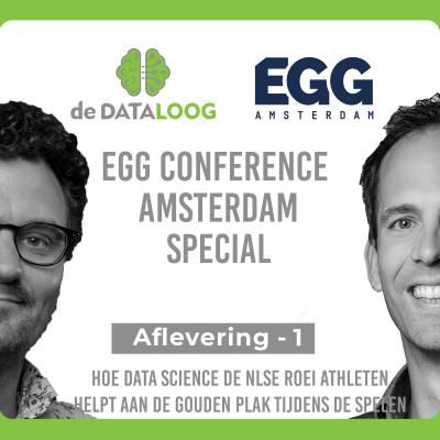 DTL EGG conference special 1- hoe data de Nederlandse roeiers helpt aan de gouden plak tijdens de spelen