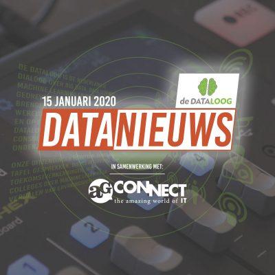 DTL Datanieuws – 15 januari in samenwerking met AG connect