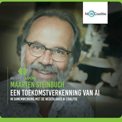 Een toekomstverkenning van AI met Maarten Steinbuch