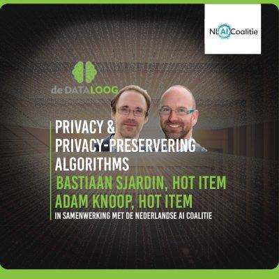 DTL jij en AI 3 – Privacy en Privacy Preserving Algoritmes